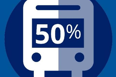Maintain 50% Capacity on Buses