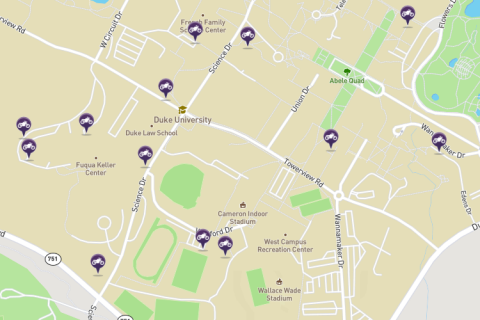 Moped & Scooter Parking Locations