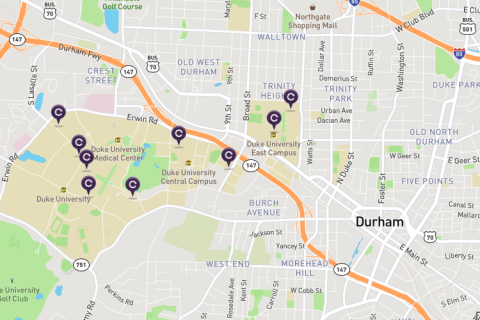 Enterprise CarShare Map